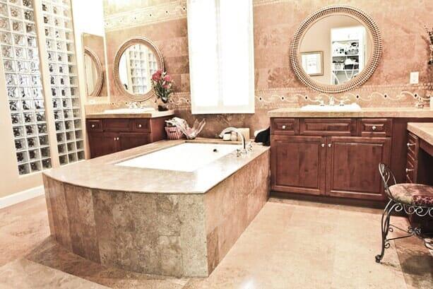 Custom luxury bath remodeling near San Diego CA by Metro Flooring
