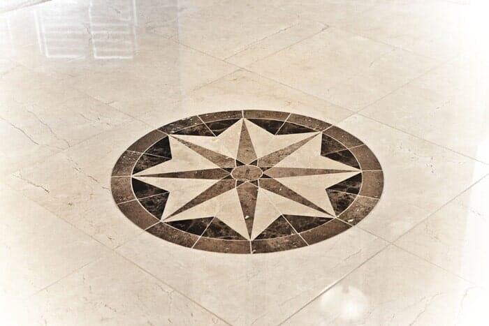 Custom tile mosaic installation near San Diego CA by Metro Flooring
