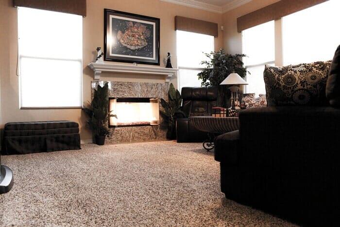 Luxury carpet installation near San Diego CA by Metro Flooring
