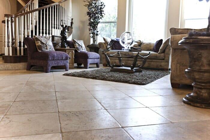 Tile flooring installation near San Diego CA by Metro Flooring