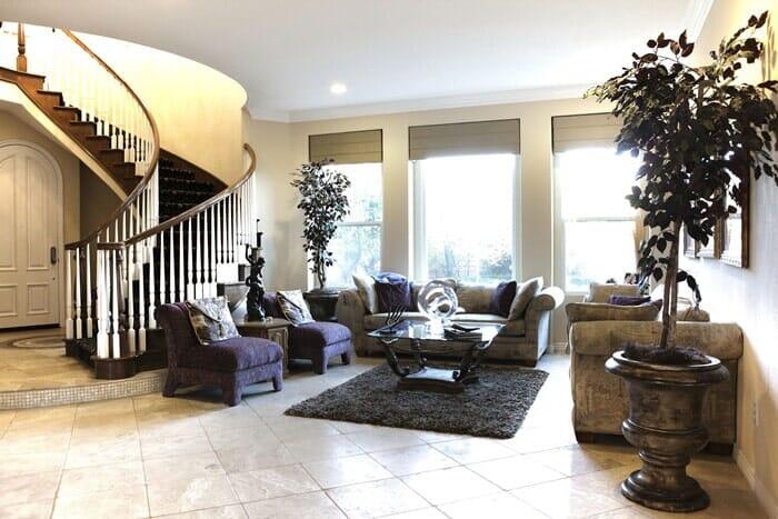 Luxury home remodel near San Diego CA by Metro Flooring