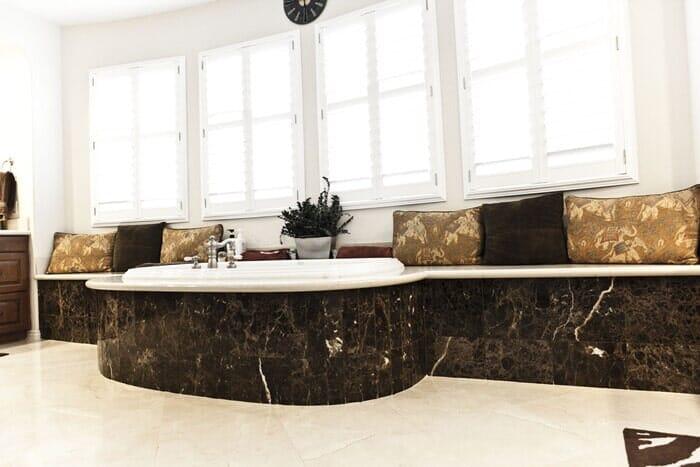 Luxury bathroom remodel near San Diego CA by Metro Flooring