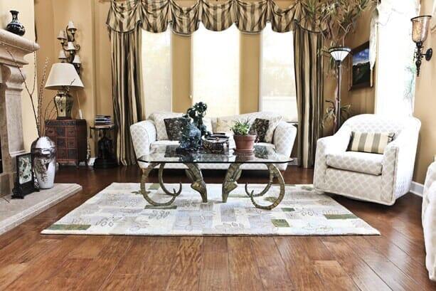 Luxury hardwood floors near Poway CA by Metro Flooring
