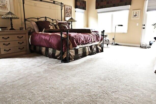 Luxury carpet installation near Rancho Penasquitos CA by Metro Flooring