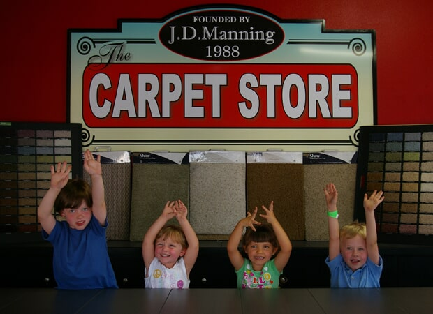Showroom photos in St. Petersburg, FL from The Carpet Store & For the Floor