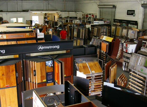Showroom photos in Tampa, FL from The Carpet Store & For the Floor