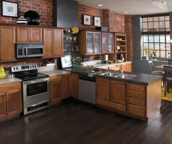 Kitchen cabinets in Huntington Beach CA by Sharon and Sons Flooring & Cabinets