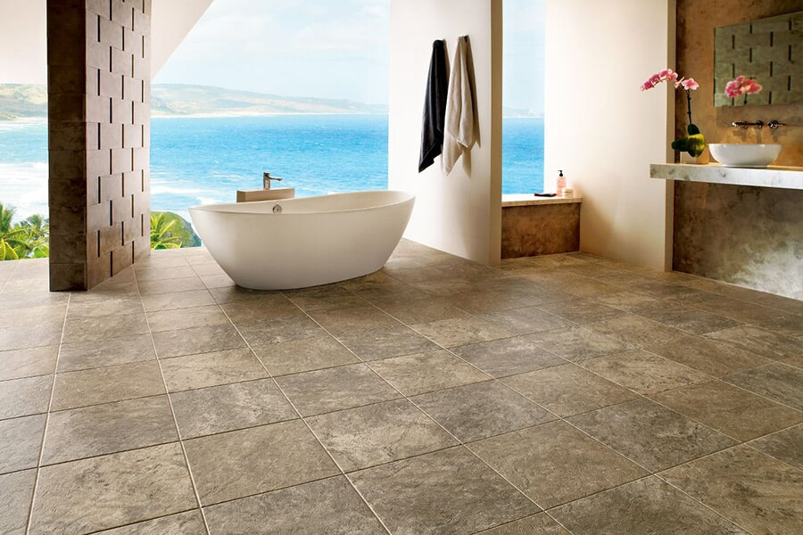 Waterproof luxury vinyl tile flooring in Niceville FL from Best Buy Carpet