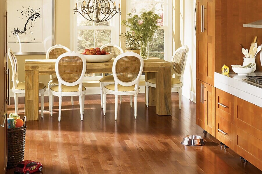 solid hardwood flooring near Durham, NC at Bruce's Carpet