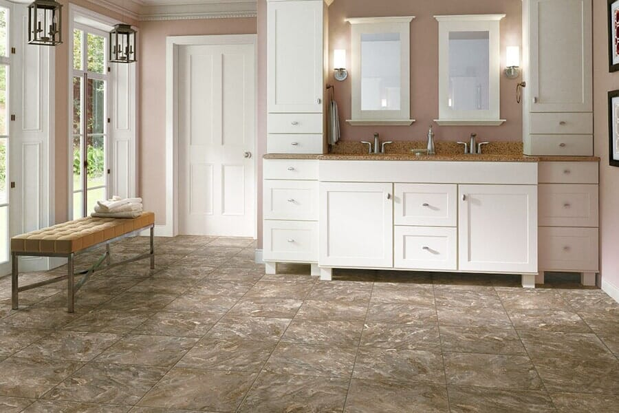 premium vinyl flooring near Durham, NC at Bruce's Carpet
