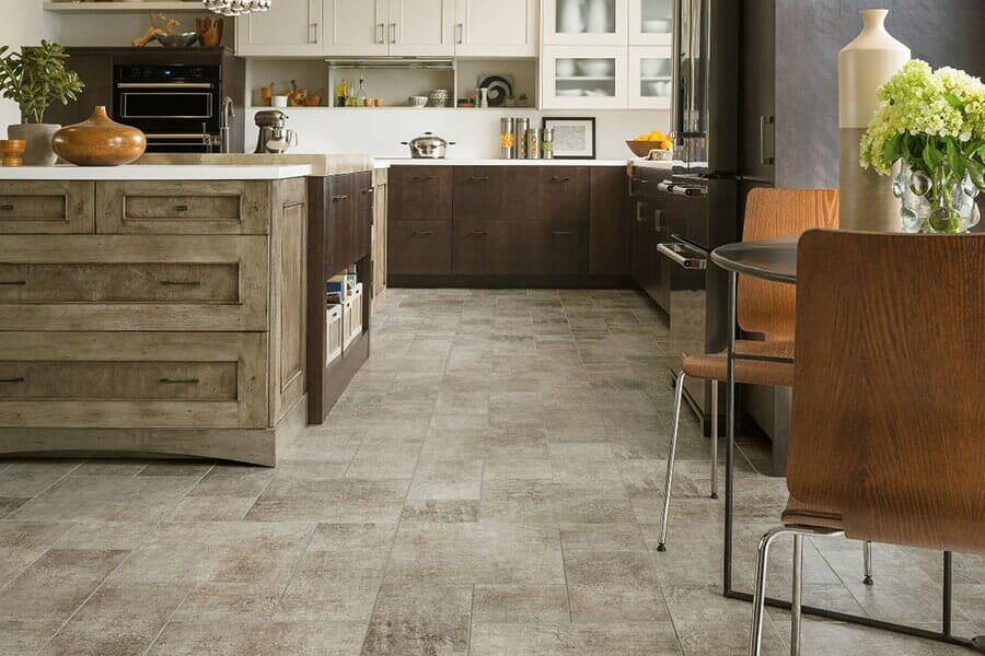 luxury vinyl for kitchen near Pittsboro, NC at Bruce's Carpet