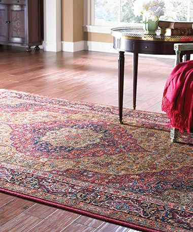 Area Rug Binding at Bruce's Carpets