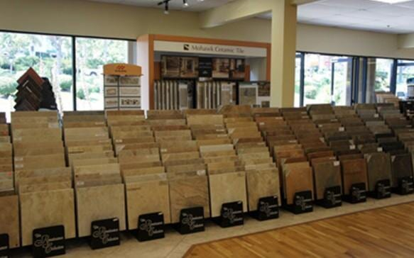 Natural stone floor near Vista CA - Action Carpet & Floor Decor