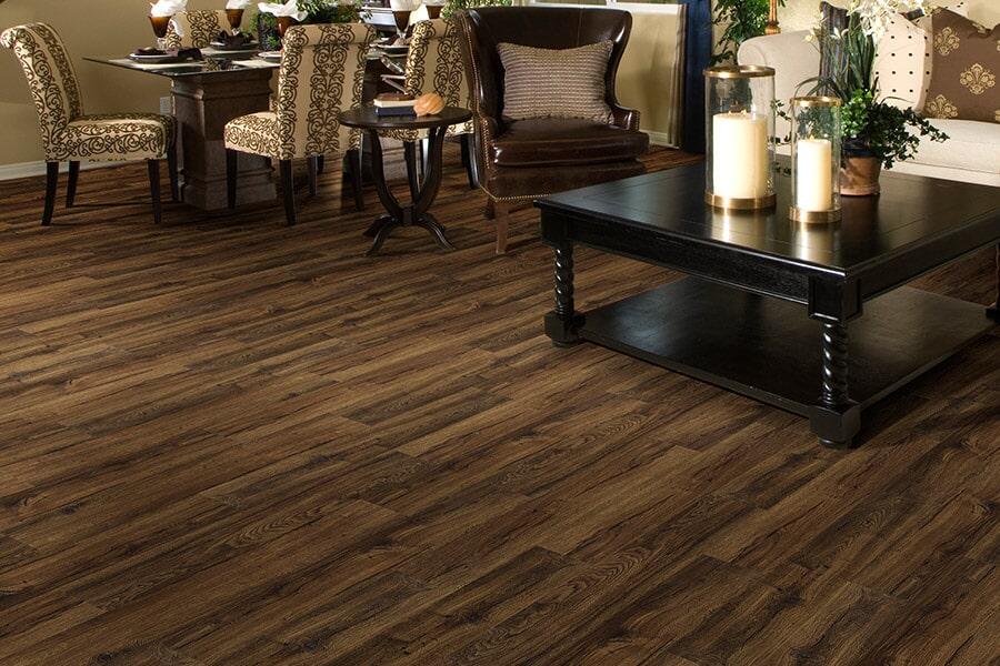 Wood look luxury vinyl plank flooring in Watkinsville, GA from Carpets Unlimited