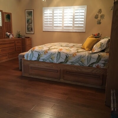 Wood floor installation in Jensen Beach FL by Floor Specialists of Martin County