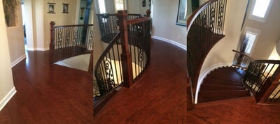 Custom hardwood floor installation in Treasure Coast FL by Floor Specialists of Martin County