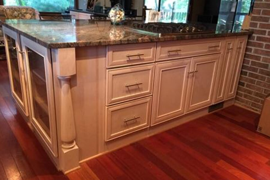 Custom kitchen cabinets in California, MD from Southern Maryland Kitchen, Bath, Floors & Design