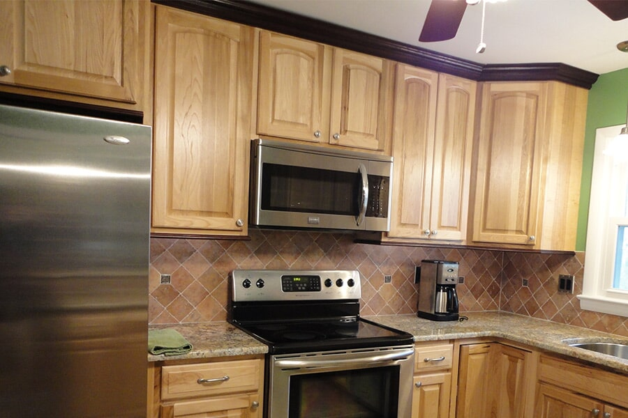 Cabinet installation in California, MD from Southern Maryland Kitchen, Bath, Floors & Design