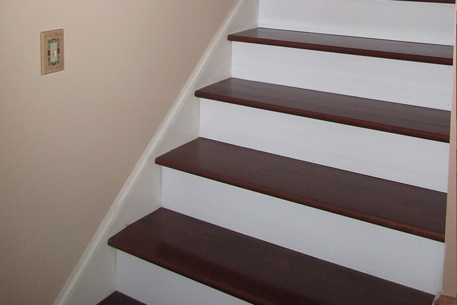 Custom stair installation in Mechanicsville, MD from Southern Maryland Kitchen, Bath, Floors & Design
