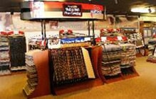 Carpet flooring showroom of Wall to Wall Floor Covering in Ronks, PA