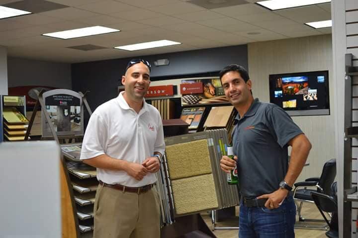 Floor store staff in Lutz FL from Flooring Master