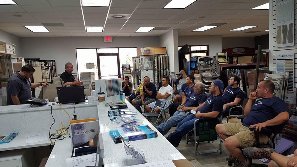 Flooring store staff in Wesley Chapel FL from Flooring Master