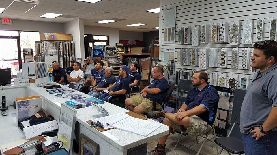Floor store staff in Orlando FL from Flooring Master