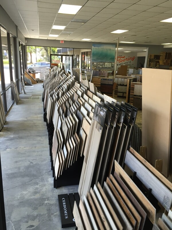 Our showroom photos in Bradenton, FL from Your Flooring Warehouse