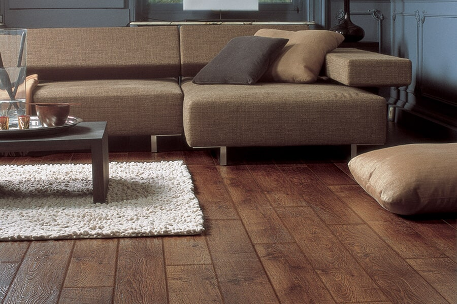 Laminate Flooring for living room near Norwich, CT at Eastern CT Flooring