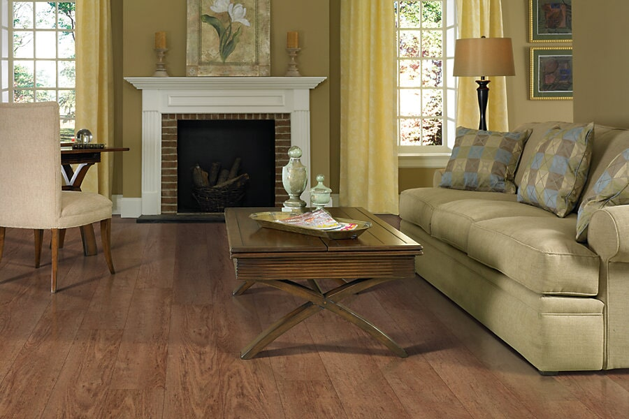 Vinyl flooring for living room near Norwich, CT at Eastern CT Flooring