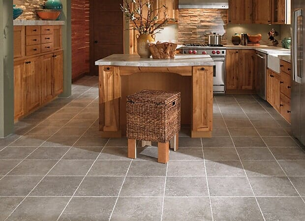 Luxury kitchen tile in Cape Fear NC from Carolina Carpet and Floors