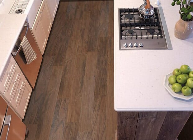 Luxury kitchen floors in Cape Fear NC from Carolina Carpet and Floors