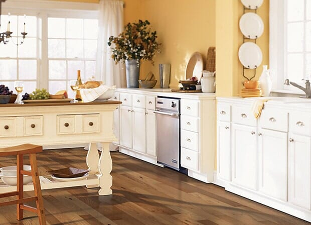 Kitchen makeover in Fayetteville NC from Carolina Carpet and Floors