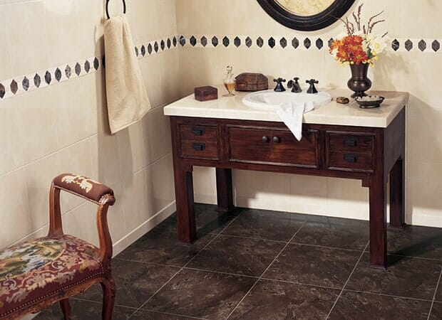 Luxury Bathroom tile in Fayetteville NC from Carolina Carpet and Floors