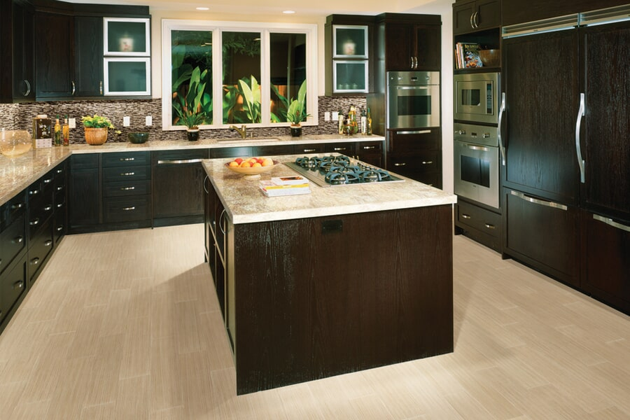 Ceramic Tile for kitchen flooring in Manteno, IL