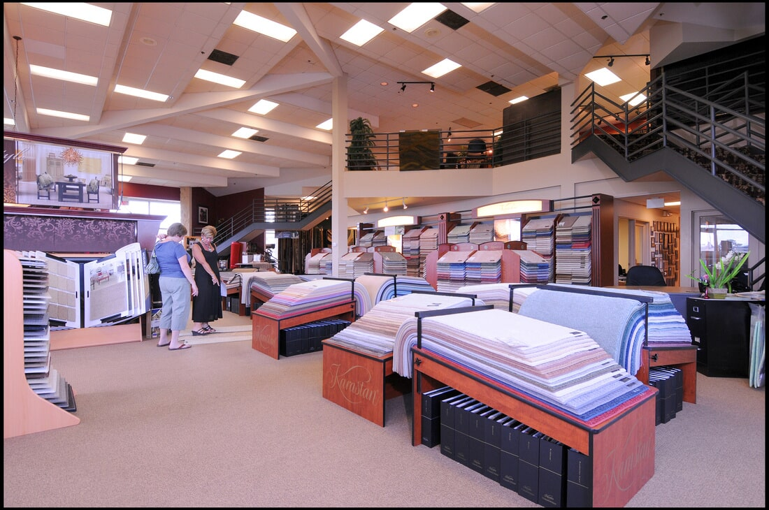 Check out the The Flooring Center showroom in Dr. Phillips, FL
