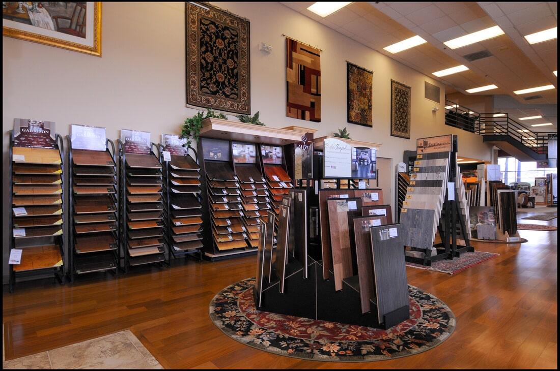 The Flooring Center showroom in Longwood, FL
