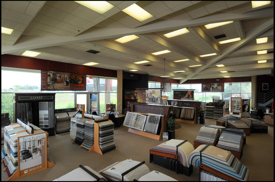 The Flooring Center showroom in Dr. Phillips, FL