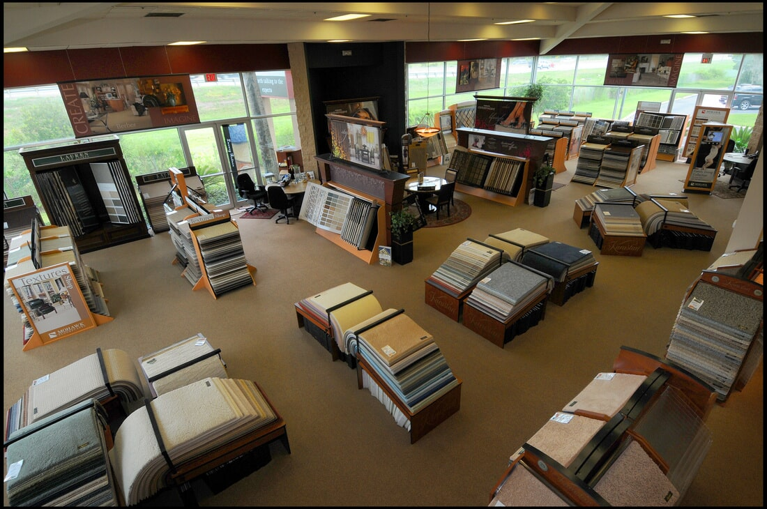 The Flooring Center showroom in Heathrow, FL