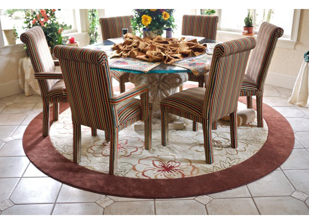 Round area rug in Lake Mary, FL from The Flooring Center