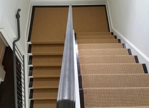 Stair runner from The Flooring Center in Longwood, FL