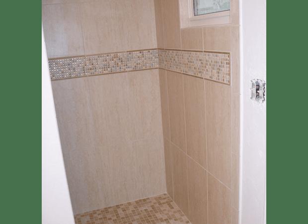 Shower tile from The Flooring Center in Heathrow, FL