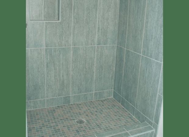 Shower tile from The Flooring Center in Orlando, FL