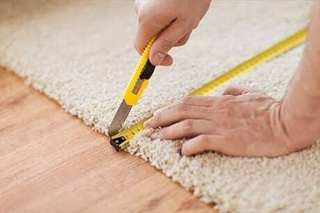 Carpet Binding at Choice Floors near Madison, WI