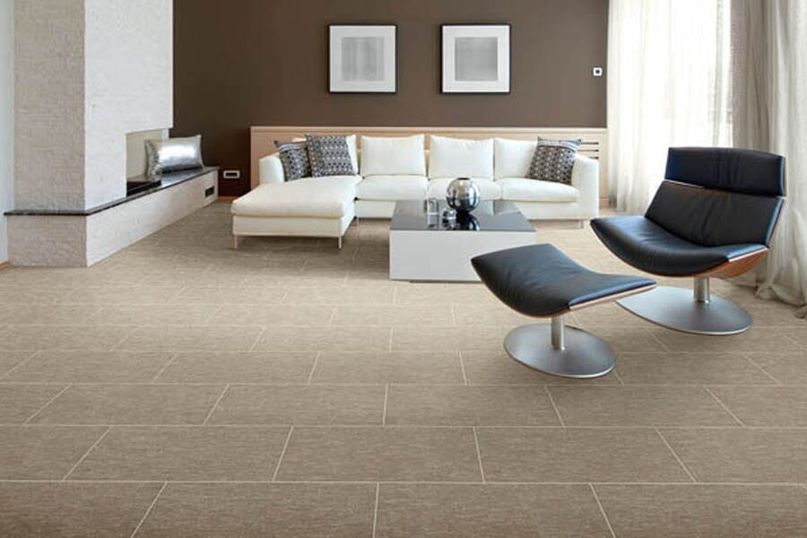Tile floors for living room near Missoula, MT at Choice Floors