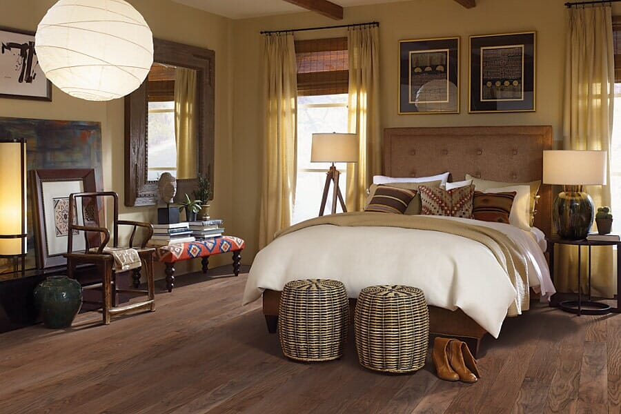 Vinyl floors for bedroom at Choice Floors near Missoula, MT