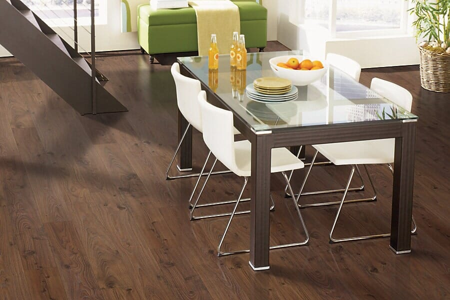 Laminate flooring in kitchen near Denver, CO at Choice Floors