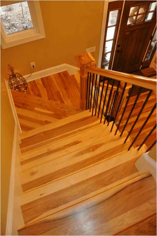 Complete Hickory Stair Systems