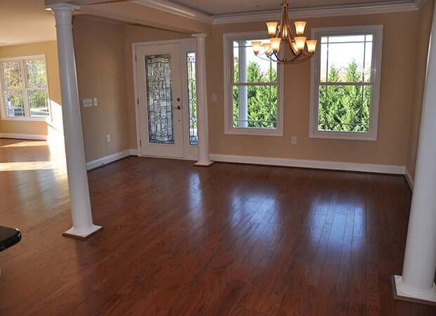 Living Room Hardwood Flooring near Blowing Rock, NC