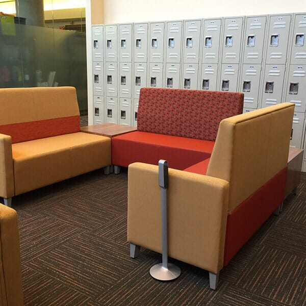 Bigelow Carpet Tiles in this BCC Commuter Lounge